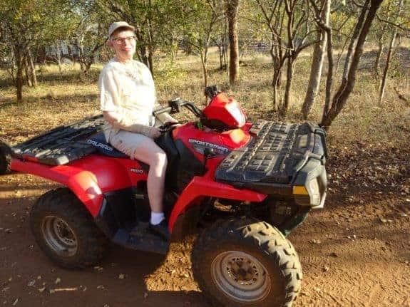 Safari in a wheelchair